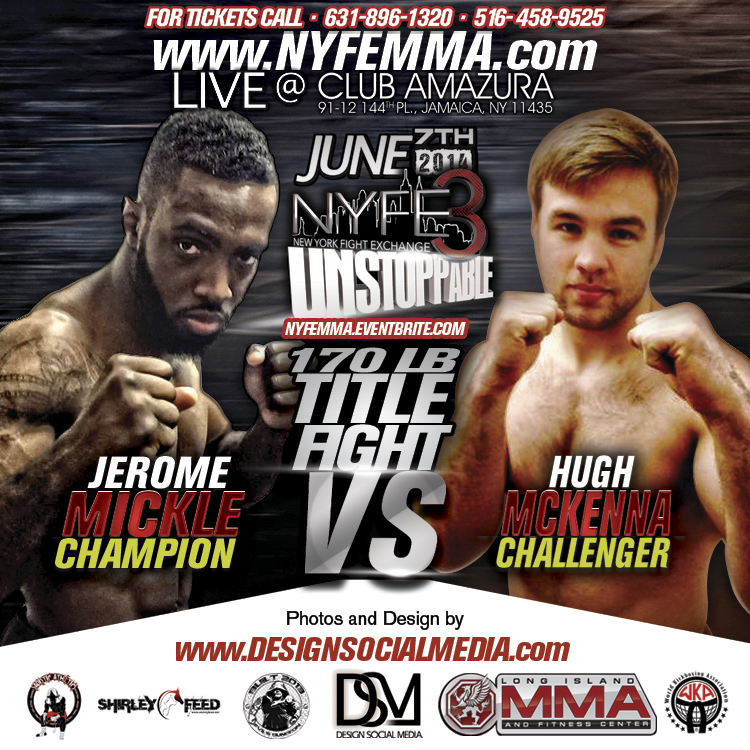Jermone VS Hugh Championship Title