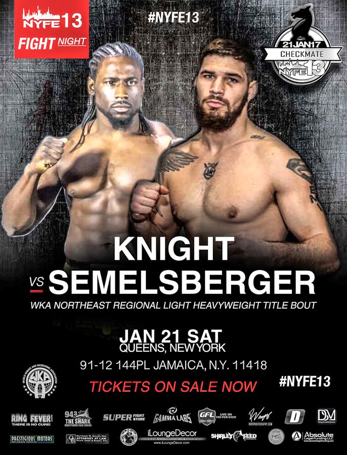 NYFE13_TITLE_MattSemelsberger vs William Knight Nyfe Heavyweight title_wkaNational155title